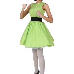 Plus Size Buttercup Powerpuff Girl Costume