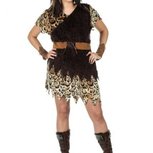 Plus Size Cavewoman Costume