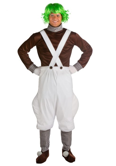 Plus Size Chocolate Factory Worker