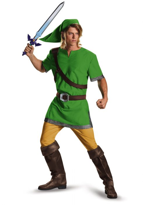 Plus Size Classic Link Costume