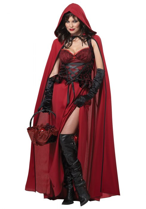 Plus Size Dark Red Riding Hood