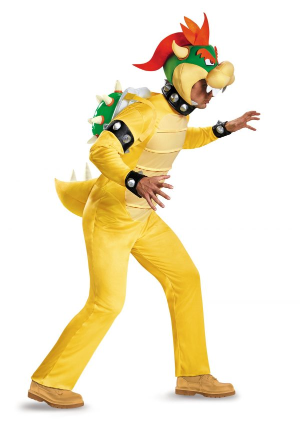 Plus Size Deluxe Bowser Costume