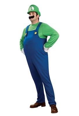 Plus Size Deluxe Luigi Costume