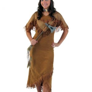 Plus Size Deluxe Women's Indian Costume