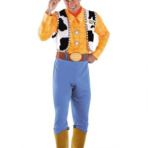 Plus Size Deluxe Woody Costume