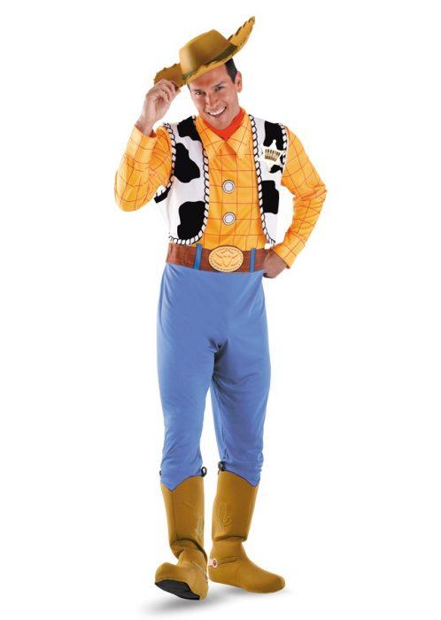 Plus Size Deluxe Woody Costume