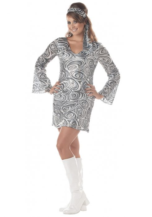Plus Size Disco Diva Dress