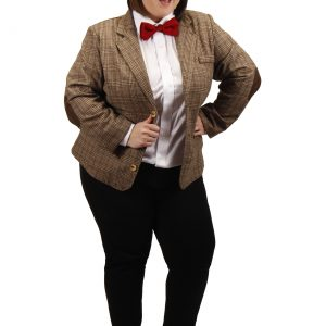 Plus Size Eleventh Doctor Women's Jacket