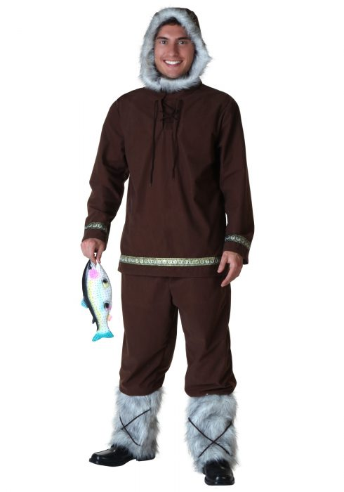 Plus Size Eskimo Boy Costume