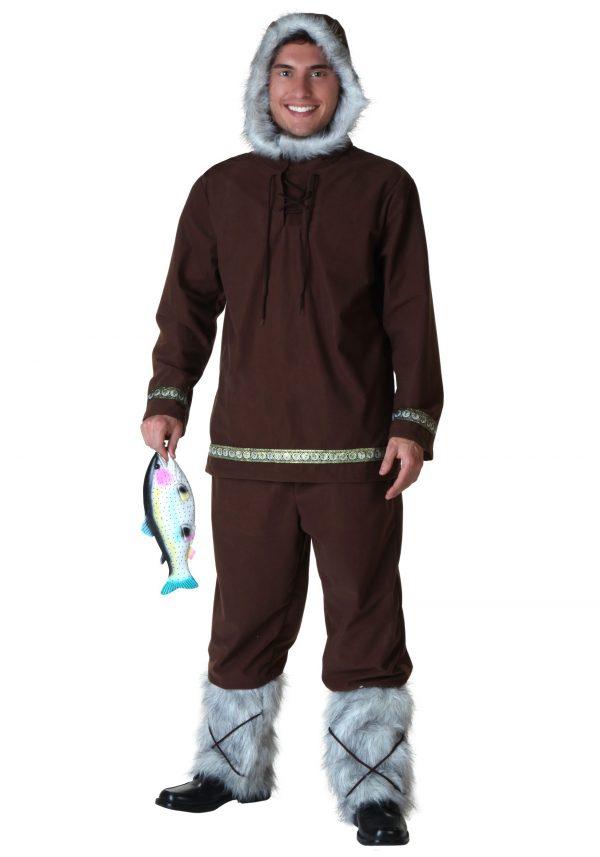 Plus Size Eskimo Boy Costume