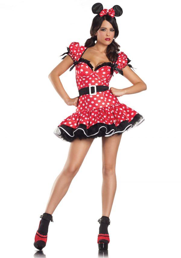 Plus Size Flirty Mouse Costume