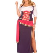 Plus Size Gypsy Costume - Gypsy Maiden