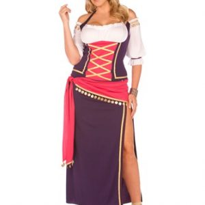 Plus Size Gypsy Costume - Gypsy Maiden