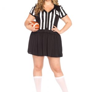 Plus Size Halftime Hottie Costume