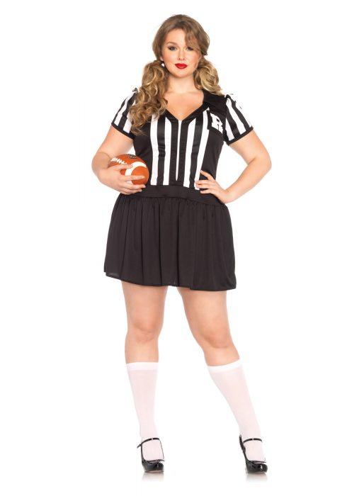 Plus Size Halftime Hottie Costume