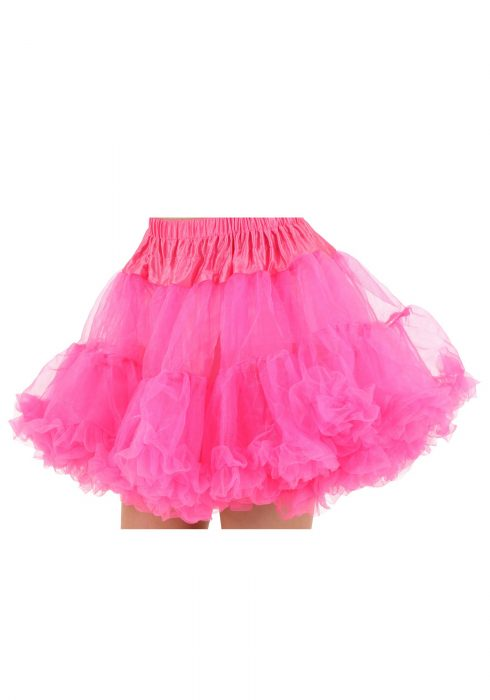Plus Size Hot Pink Petticoat