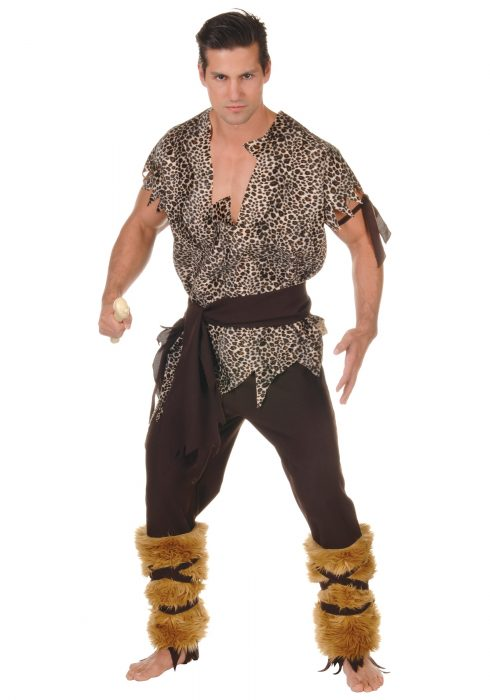Plus Size Hunter Caveman Costume