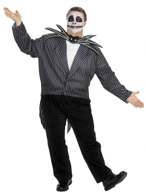 Plus Size Jack Skellington Costume