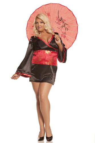 Plus Size Japanese Costume - Japanese Doll