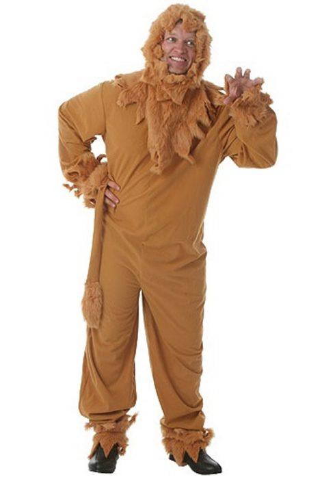 Plus Size Lion Mens Costume