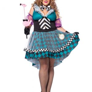 Plus Size Manic Mad Hatter Costume
