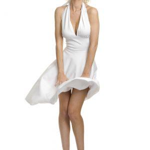 Plus Size Marilyn Halter Dress