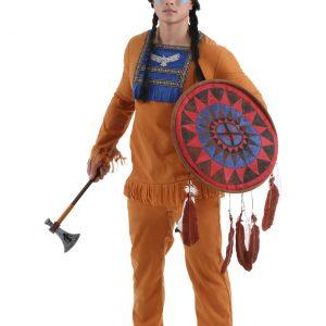 Plus Size Men's Prairie Indian Costume