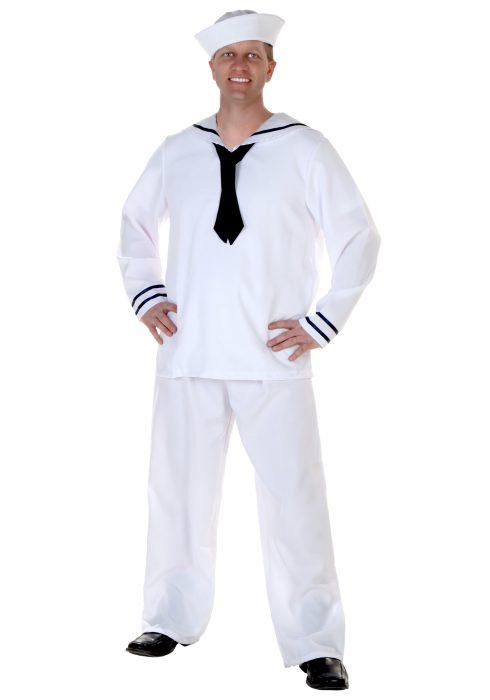 Plus Size Men's Sailor Costume
