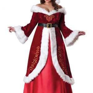 Plus Size Mrs. St. Nick Costume