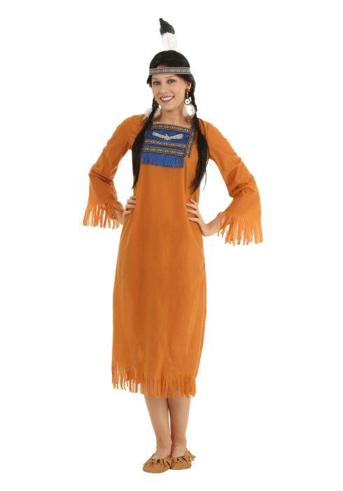 Plus Size Native Indian Dress