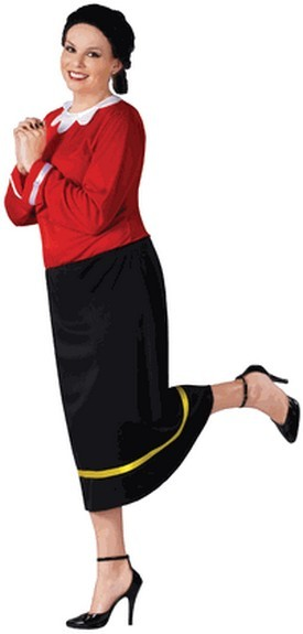 Plus Size Olive Oyl Costume