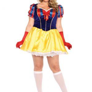 Plus Size Poison Apple Princess Costume