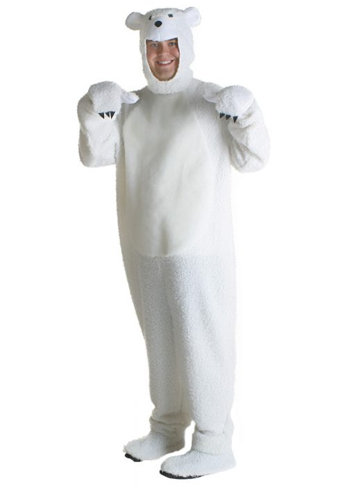 Plus Size Polar Bear Costume