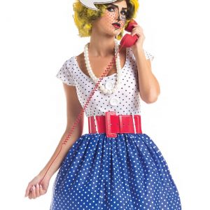 Plus Size Pop Art Cutie Costume
