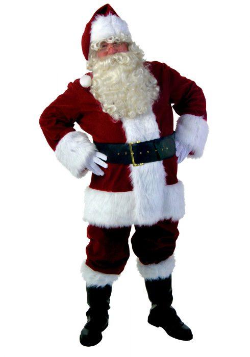 Plus Size Premiere Santa Suit