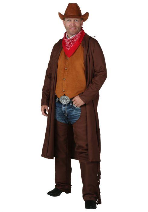 Plus Size Rancher Cowboy Costume