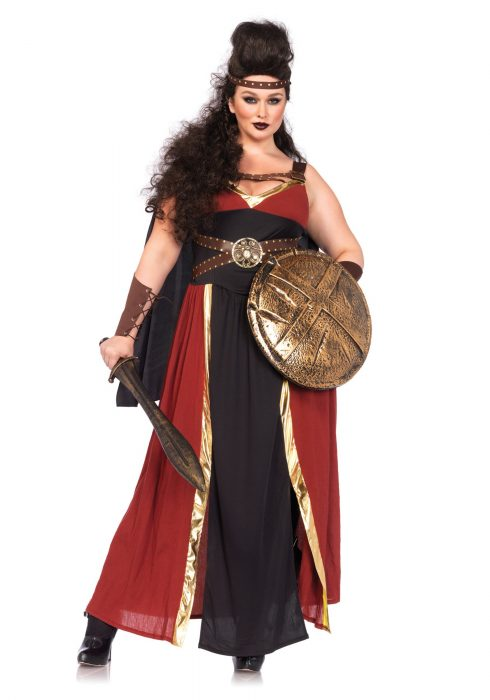 Plus Size Regal Warrior Costume