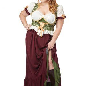 Plus Size Renaissance Wench Costume