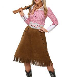 Plus Size Rodeo Cowgirl Costume