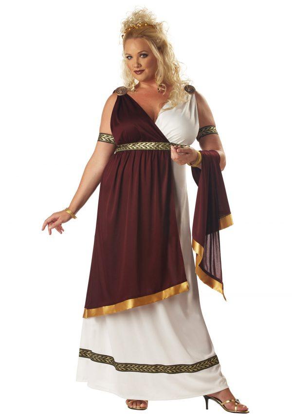 Plus Size Roman Empress Costume
