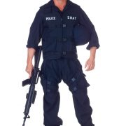 Plus Size SWAT Jumpsuit Costume