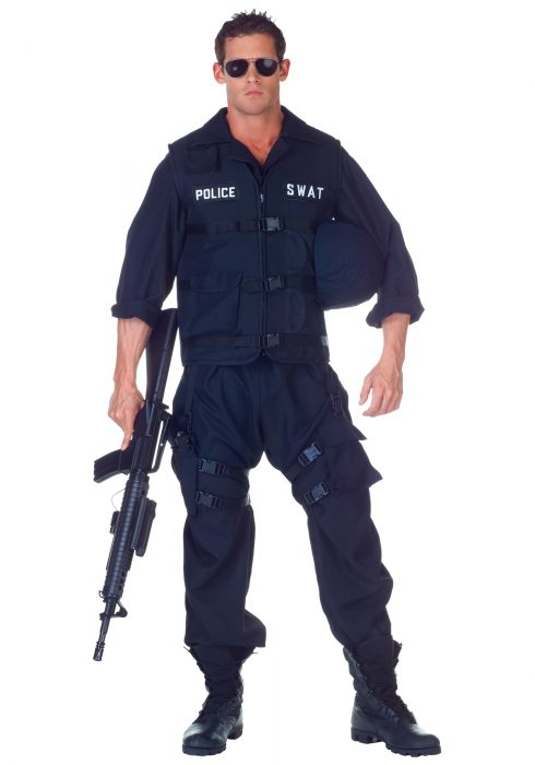 Plus Size SWAT Jumpsuit Costume