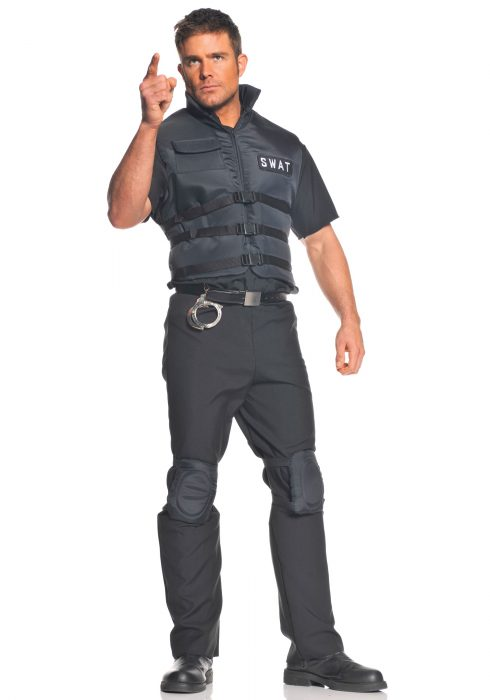 Plus Size SWAT Officer Costume