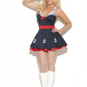 Plus Size Sailor Costume - Sailor's Delight