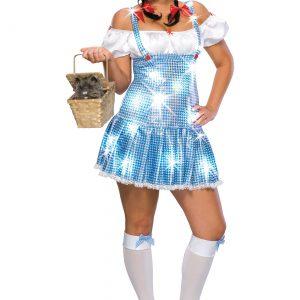 Plus Size Sequin Dorothy Costume