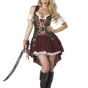 Plus Size Sexy Swashbuckler Captain Costume