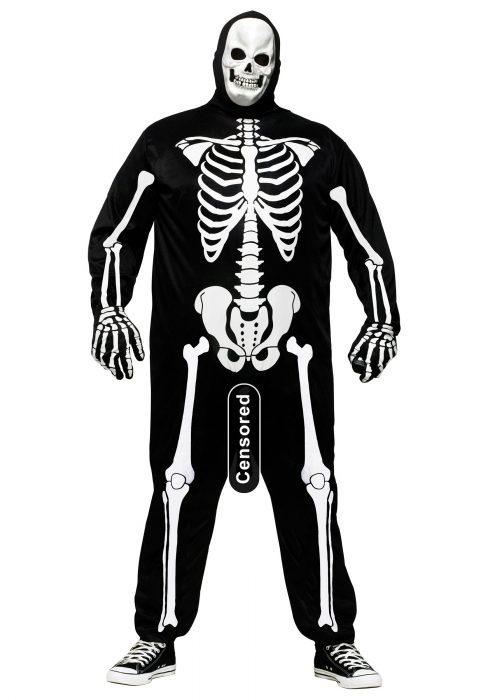 Plus Size Skele-Boner Costume