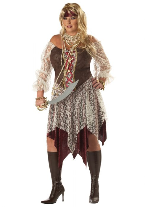 Plus Size South Seas Siren Costume