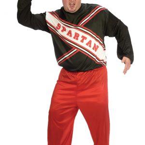 Plus Size Spartan Cheerleader Costume