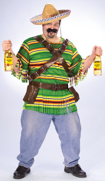 Plus Size Tequila Pop 'n Dude Costume